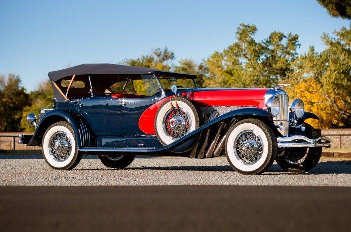 John Duval Dodge's Duesenberg Model J heads to auction in Scottsdale
