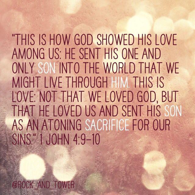 """Image result for 1 john 4:9-10"""""""