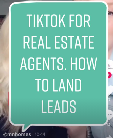 Tiktok For Real Estate Agents Real Estate Agent Small Business Tips Marketing Tips