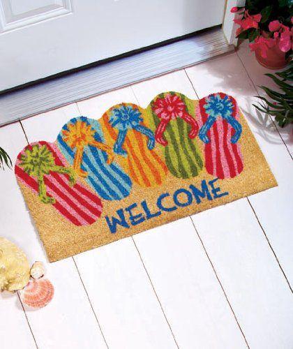 Brand New Flip Flops Doormats To Brighten Up Your Sunny Summer Days