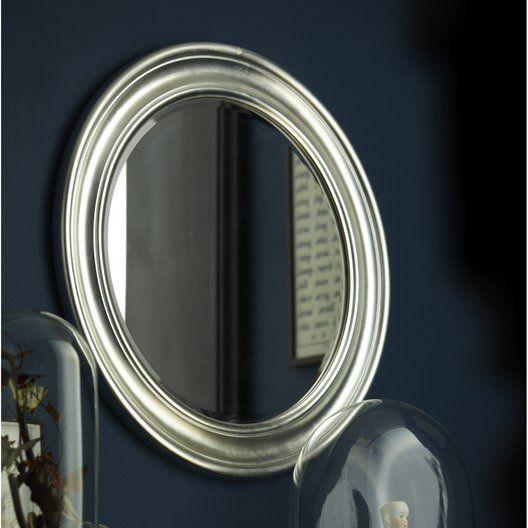 Miroir rond et argenté #miroir #homedecor | Mur | Miroir rond ...