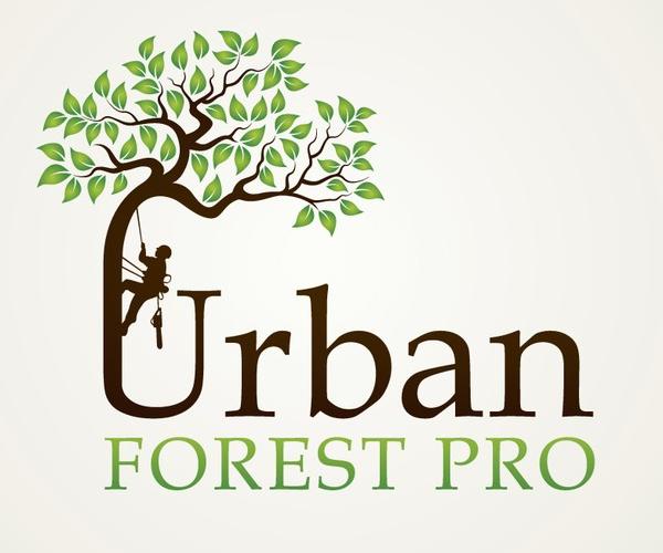 Urban Forest Pro Logo Design 10 Logo Design Tree Logo Design Logo Design Diy