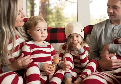 family jammies holiday matching pajamas burts bees baby simple christmas all things