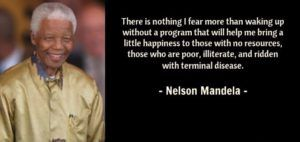 Nelson Mandela Quote About Fear Most Famous Nelson Mandela Quotes