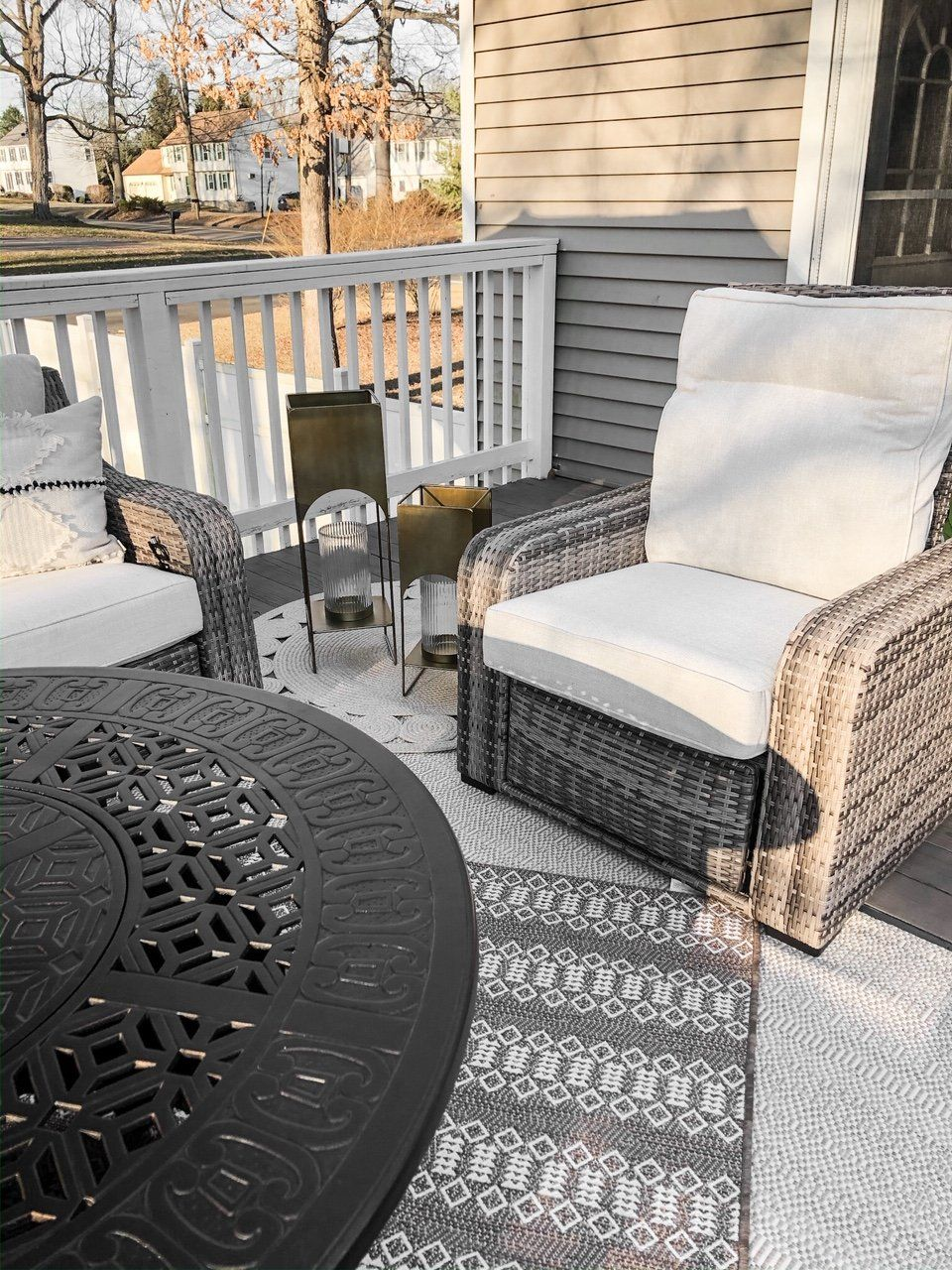Made With Polyurethane Wicker In A Weather Resistant Finish This Southport Pushback Recliner Sh In 2020 Outdoor Furniture Sets Patio Furniture Sets Mattress Furniture