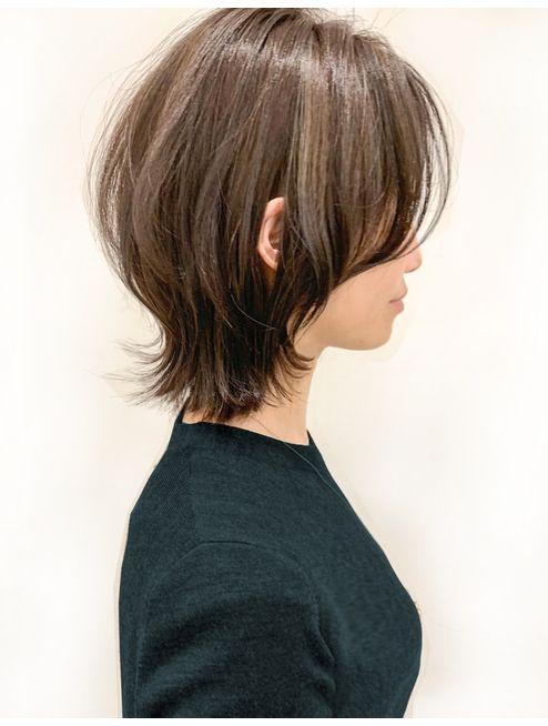 【Limb】ソフトウルフ 丸み 耳かけ:L052833464|リム(Limb)のヘアカタログ|ホット