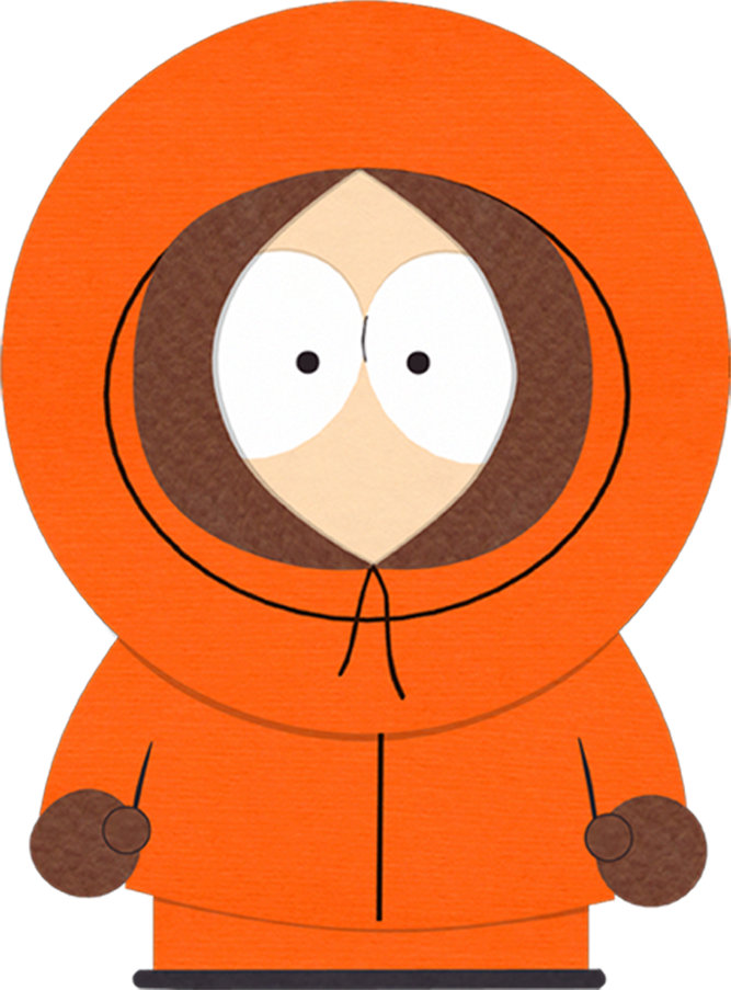 KENNY of SOUTH PARK novelty plastic collectors card Drivers License