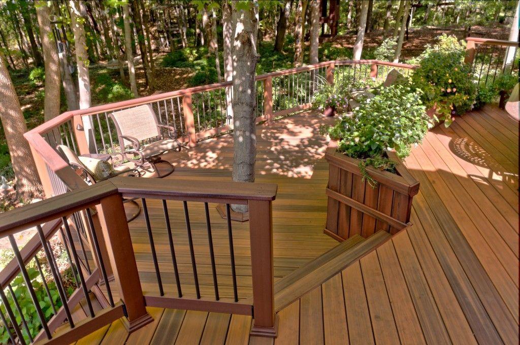 pressure treated wood deck designs Google