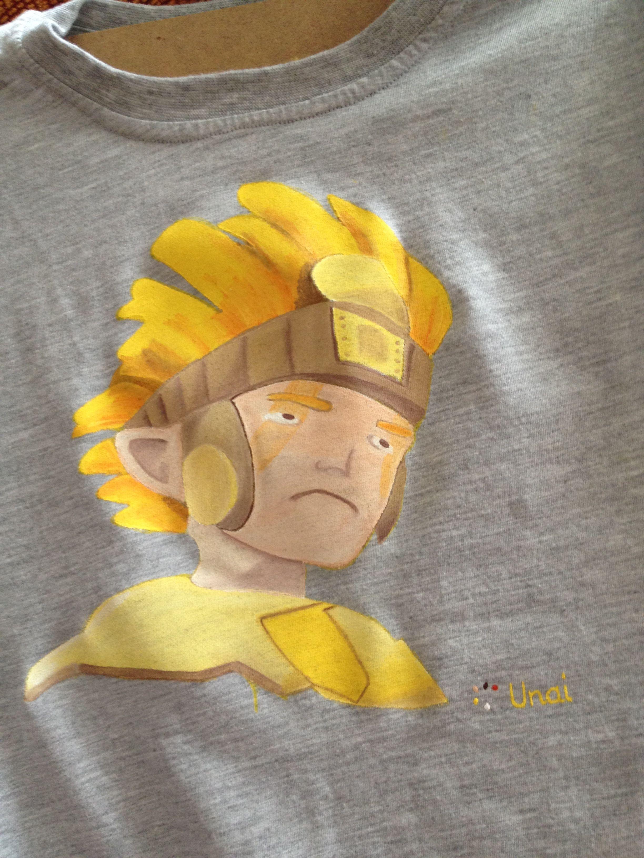 camiseta Zak