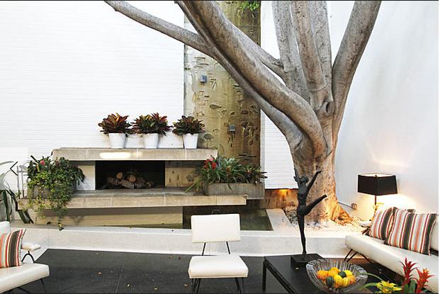 Garrett Eckbo Courtyard House And The Art Of Landscape Outdoor