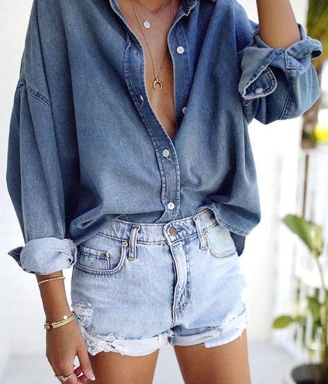 Conseils pour bien porter ta chemise en jean