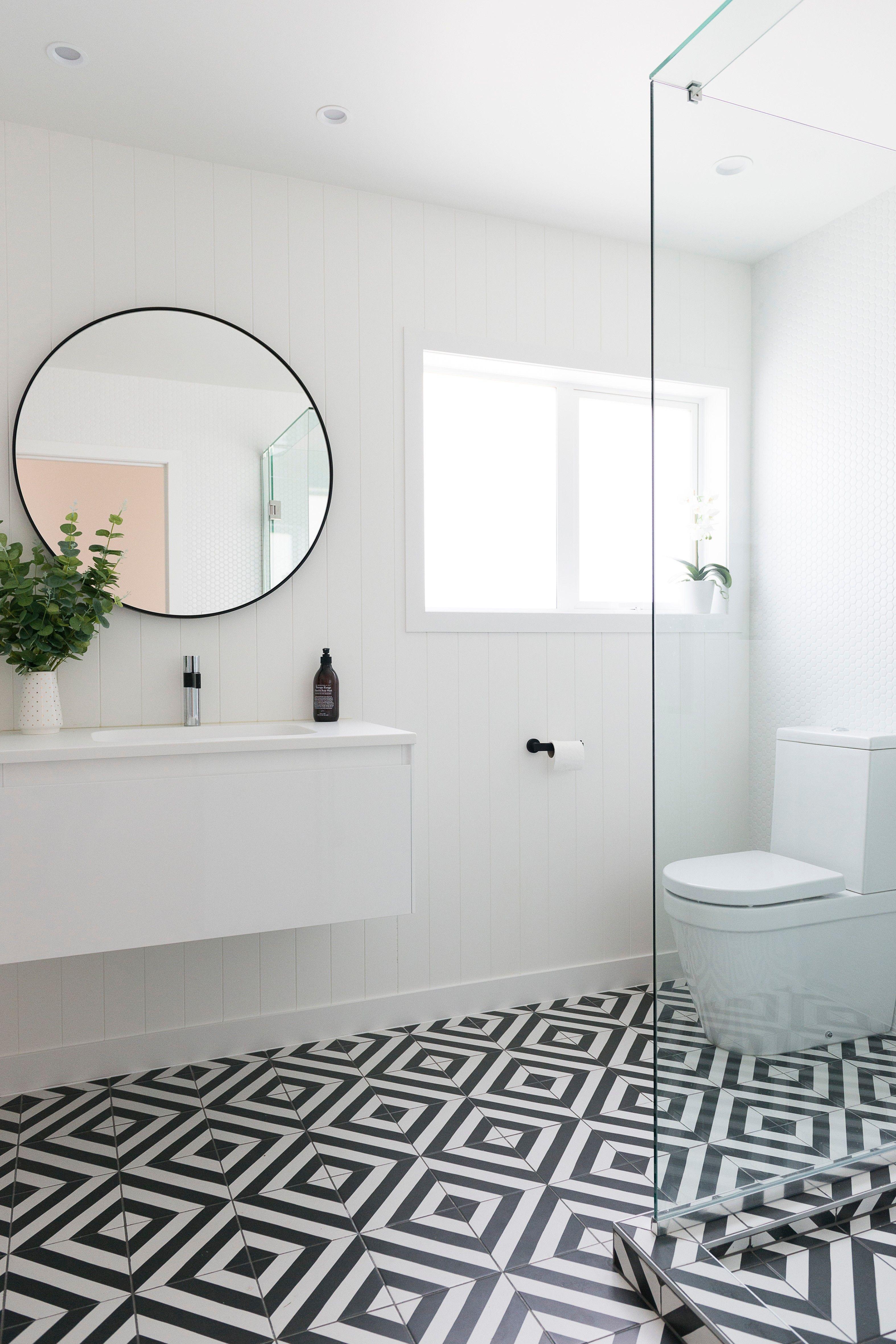 Goroka Grafito 20 Black Bathroom Black And White Tiles Bathroom Black And White Bathroom Floor