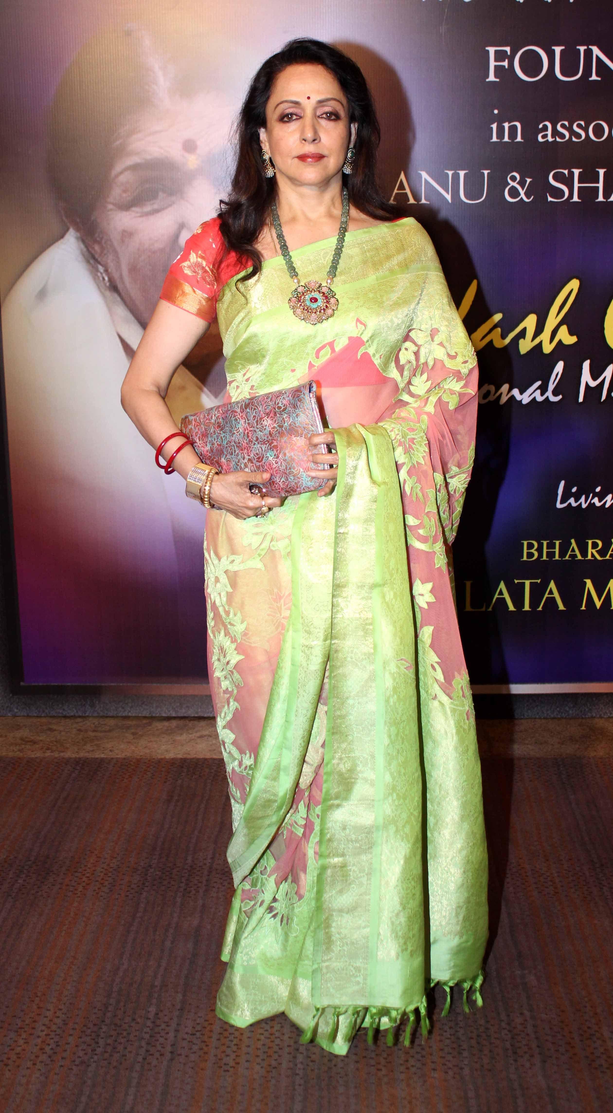 hema malini in neeta lulla saree | Fancy sarees, Saree trends, Saree