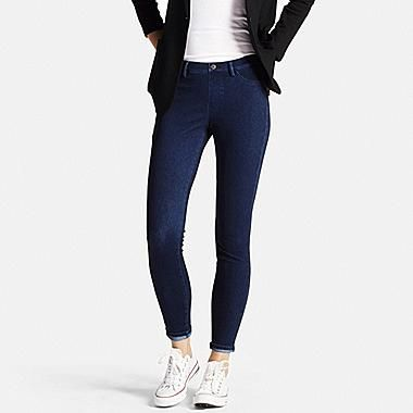 WOMEN DENIM LEGGINGS PANTS