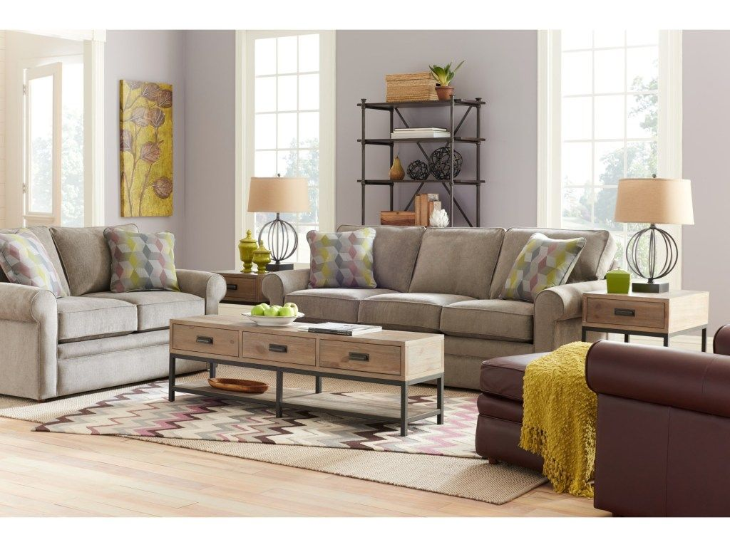 Collins Sofa With Rolled Arms By La Z Boy Collins Sofa Room