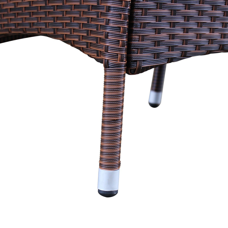 Azure sky rattan outdoor patio furniture set garden lawn sofa wicker