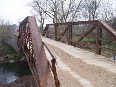 Bridgehunter.com | Possum Trot Road Bridge - Moniteau County, Missouri