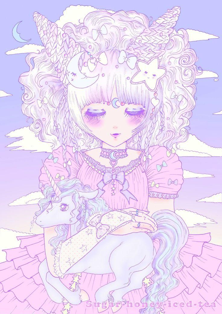♡Pastel♡ Anime art tutorial, Anime drawings, Unicorn