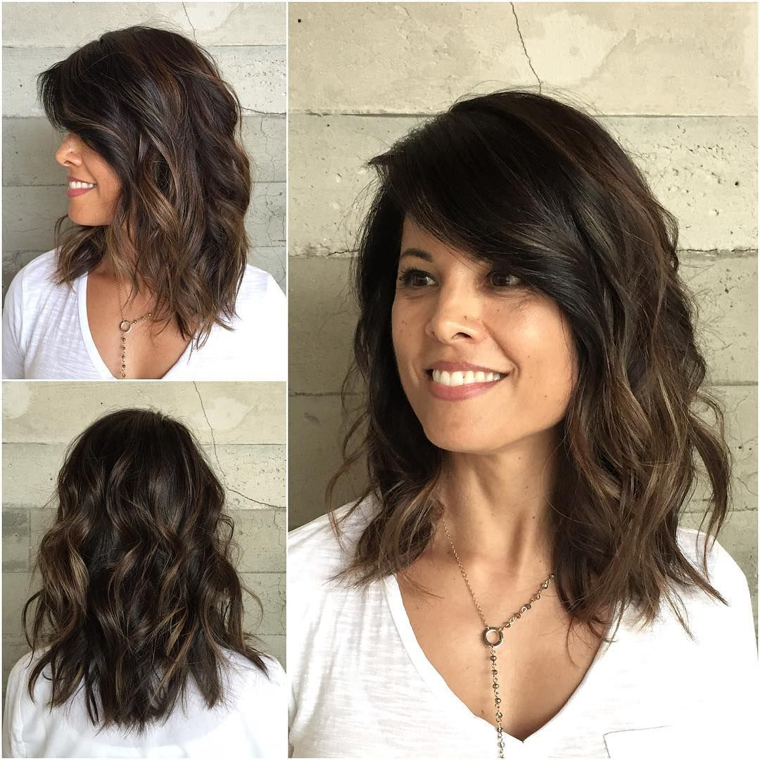 Careless and beautiful styling of medium length hair 30