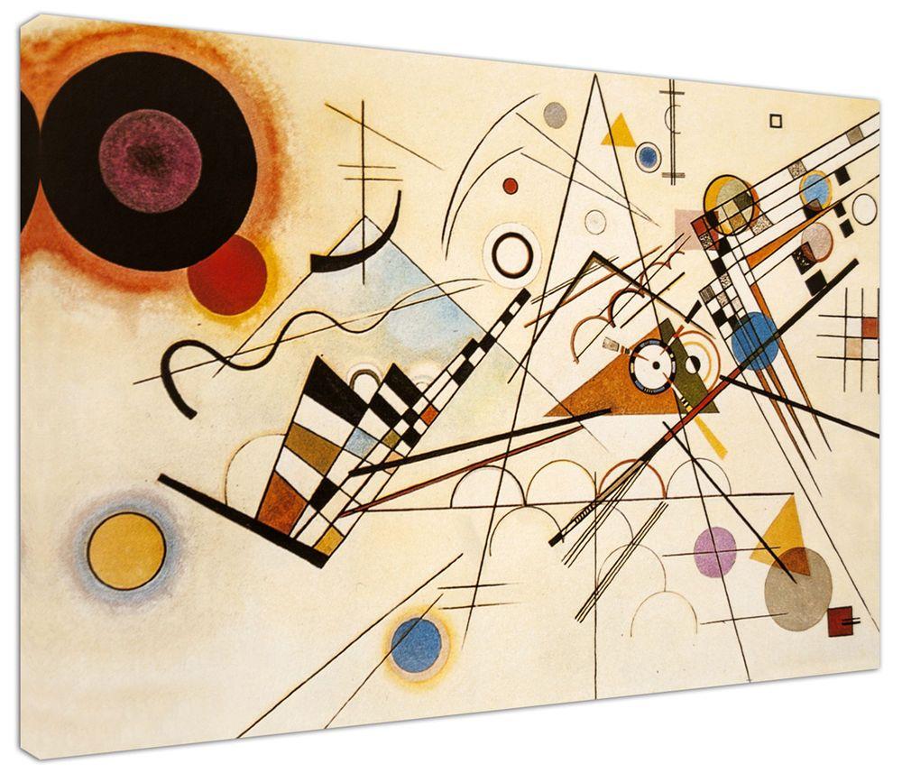 Quadro moderno Astratto Kandinsky Comp. - Arredo Arte Stampa su tela ...