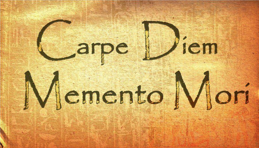 Carpe Diem Memento Mori By Edwarddd89 Memento Mori Memento