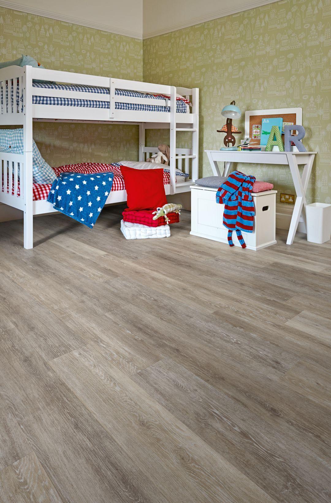 Boathouse Oak Camaro Luxury Vinyl Tile Flooring Featured In Kids