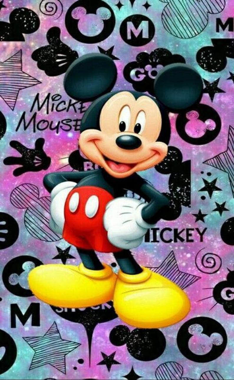 5D Diamond Painting Mickey Mouse Diamond Mosaic Ar