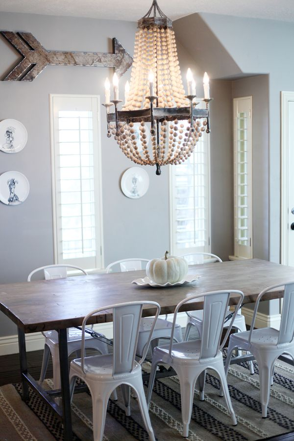 Love It All Modern Farmhouse Dining Farmhouse Dining Room Table Dining Room Remodel