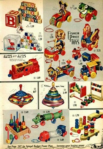Toys In The 1950s Toys Games Dolls Everything Else