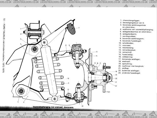 Ford Cortina Front Suspension 2 Ford Lotus 7 Fronts