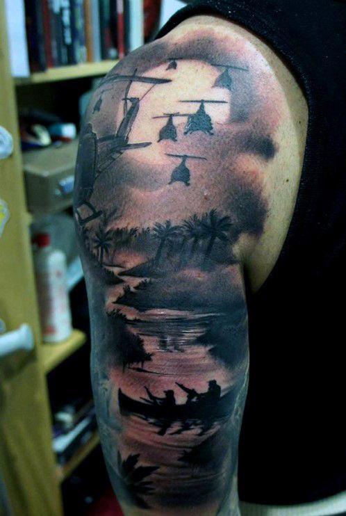 100 badass tattoos for guys masculine design ideas for Badass first tattoos