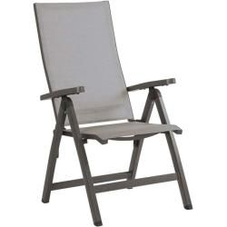 Photo of Stern New Top folding armchair aluminum graphite / silver gray Stern