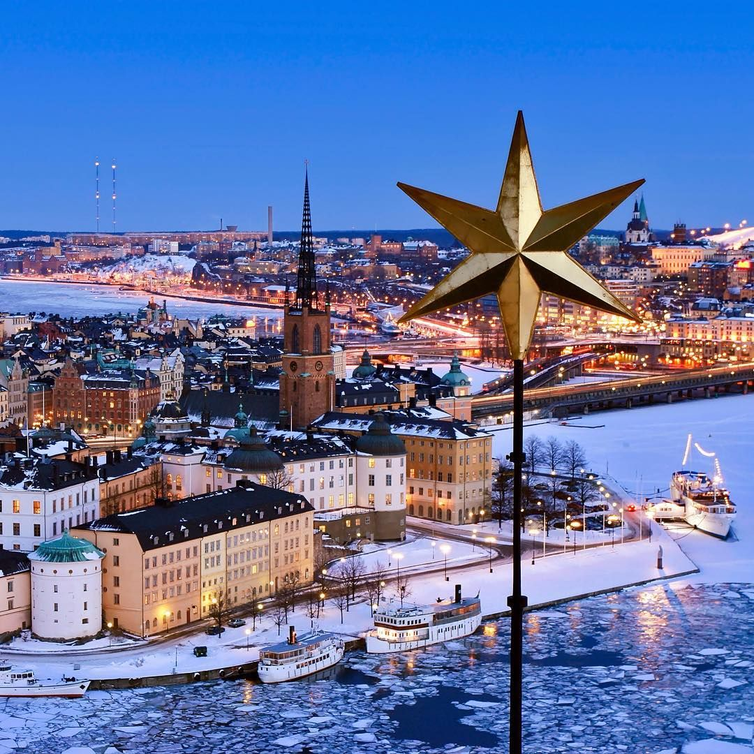 Beautiful View Over Riddarholmen In Stockholm Sweden Riddarholmen Stockholm Sweden Scandinavia Sweden Travel Stockholm Winter Stockholm Sweden