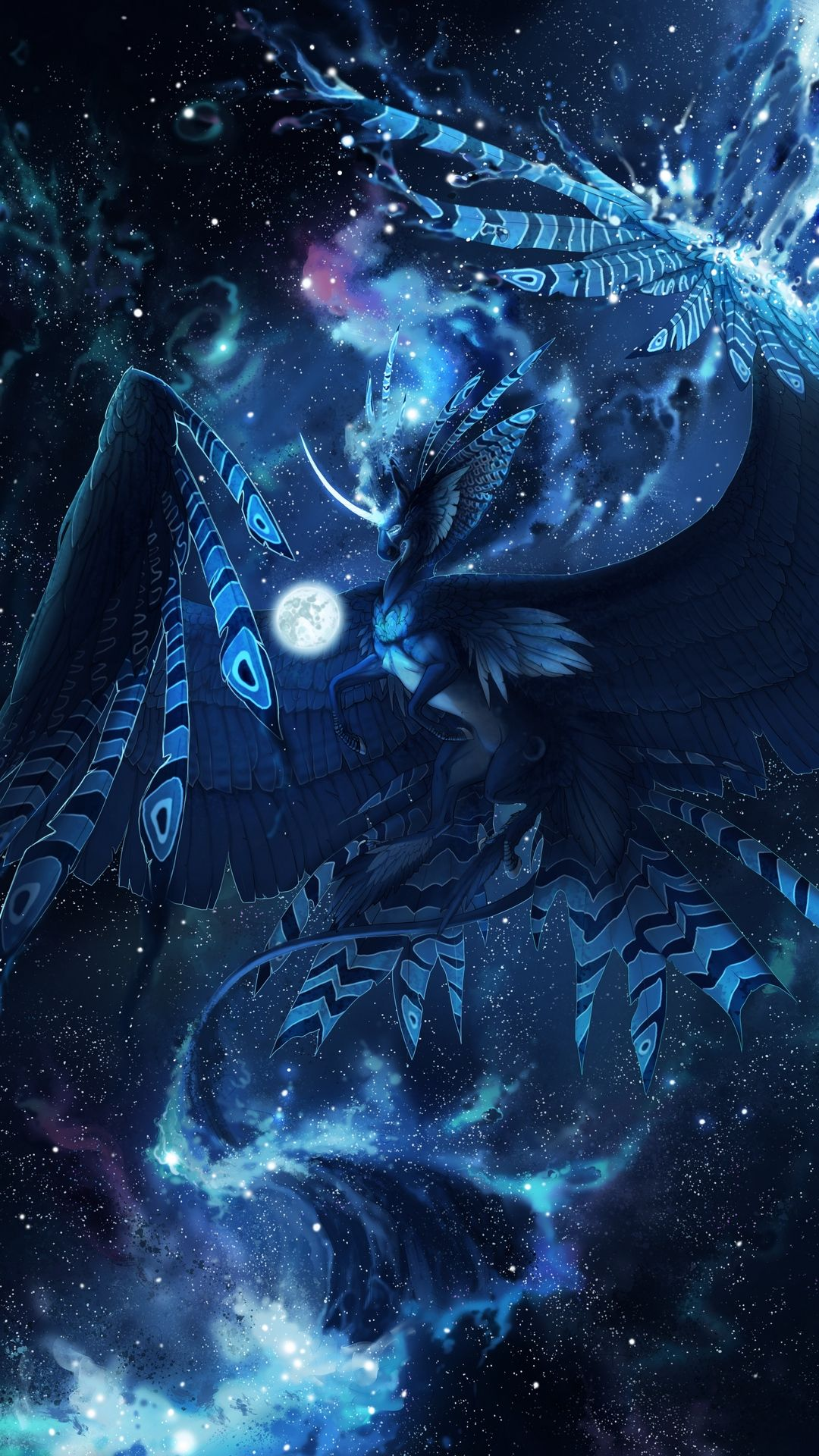 Galaxy Dragon Wallpaper