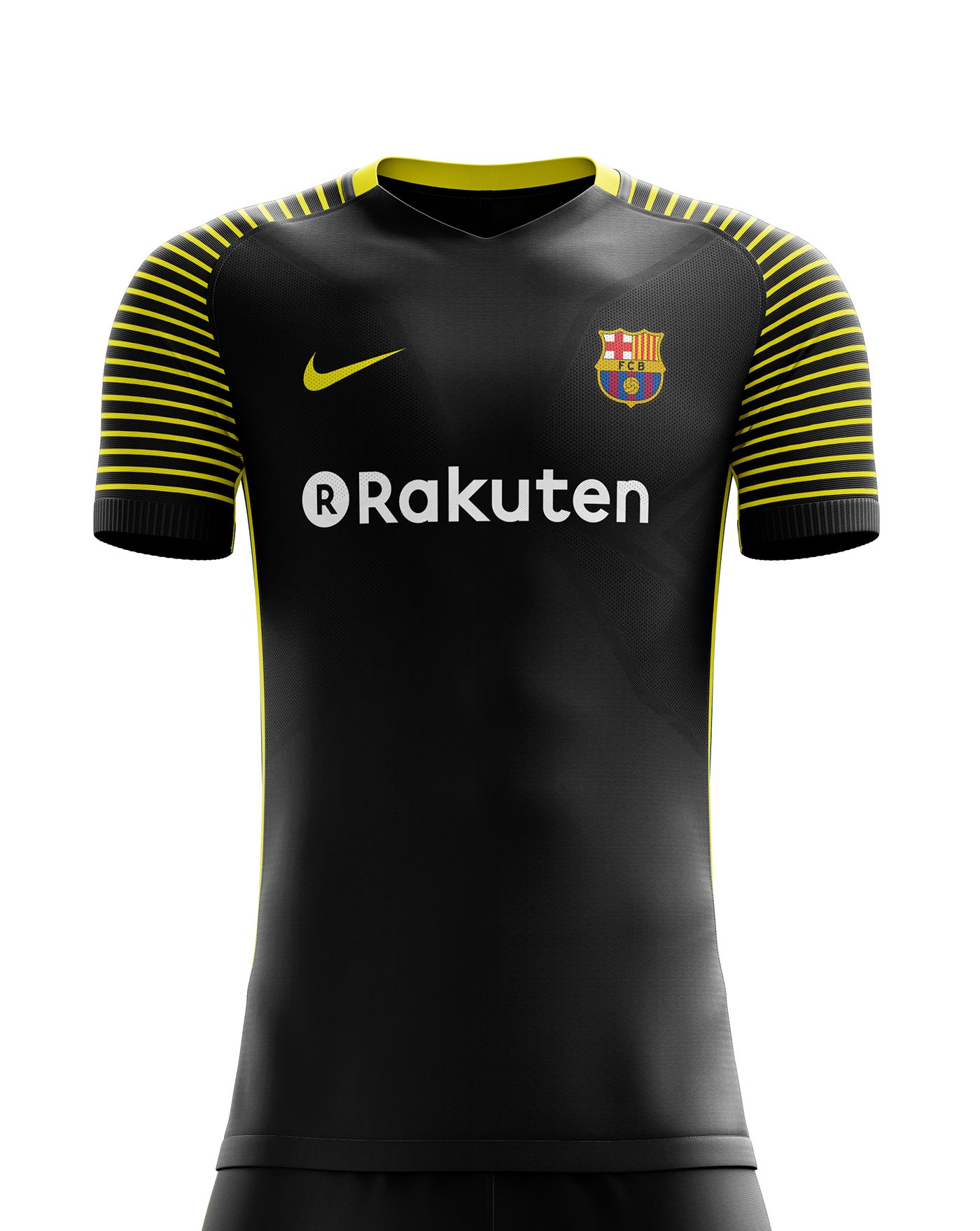 25437f168 I designed football kits for FC Barcelona for the upcoming season 18 19.  the home kit is inspired by shape of ...