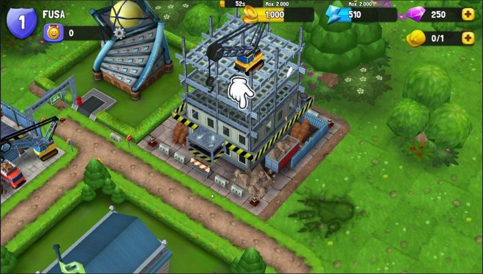 monstrocity rampage is a free to play android city building
