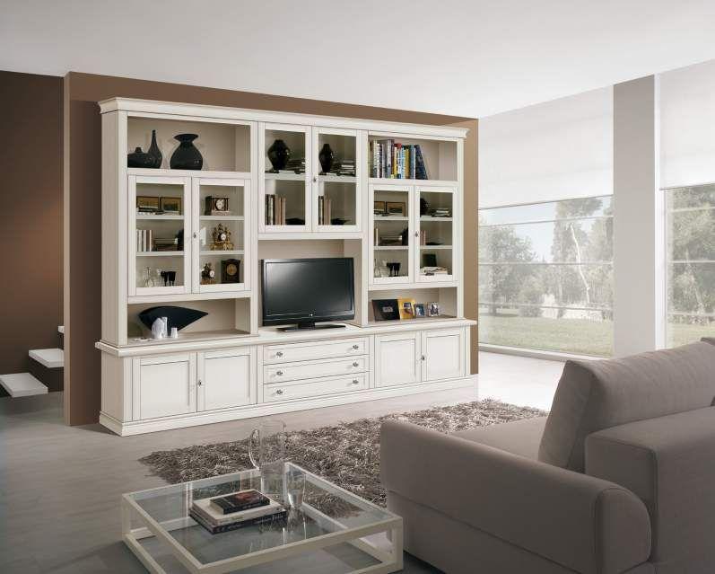 Arredamento Libreria ~ Parete attrezzata soggiorno ; ok come libreria e porta tv