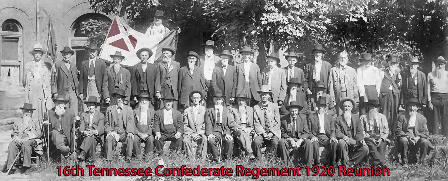 CONFEDERATE VETERANS REUNION TENNESSEE HISTORY RELICS