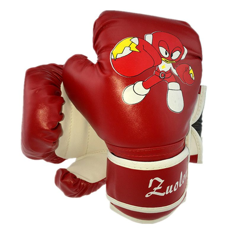 1 Pair Child Boxing Gloves Kids Sandbag Punching Sparring Training Mitts Gear❤G