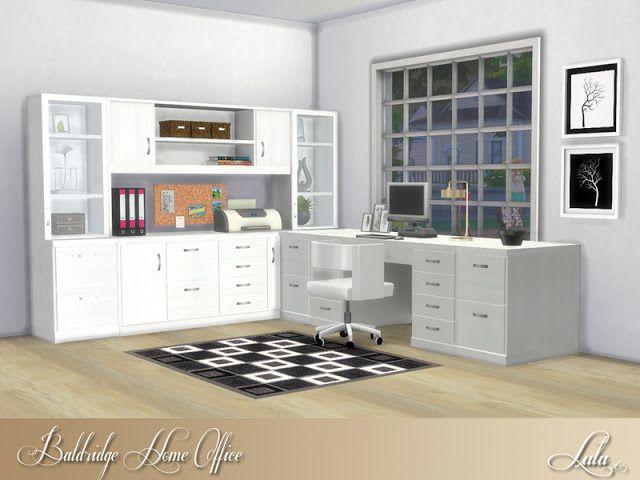 Erweiterungen, Home Office, Schreibtische, Studie, Die Sims, Zuhause,  Möbel, Wohnen