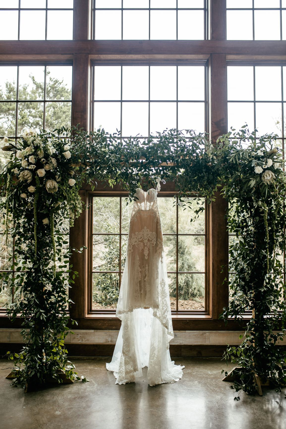 Indoor Ceremony Barn ceremony, reception, barn, shiplap