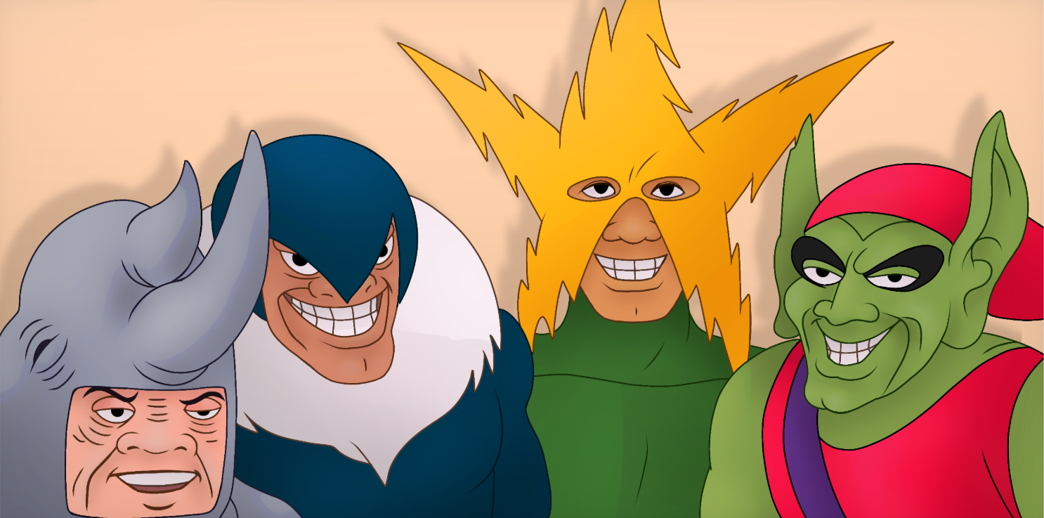 Me And The Boys HD Template (Redrawn) Meme template