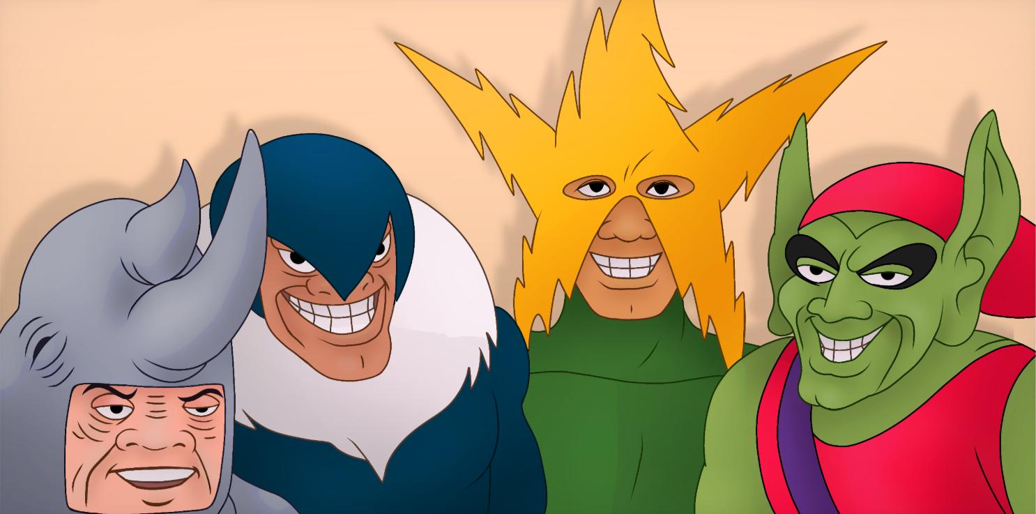 Captain America Hydra Meme Template