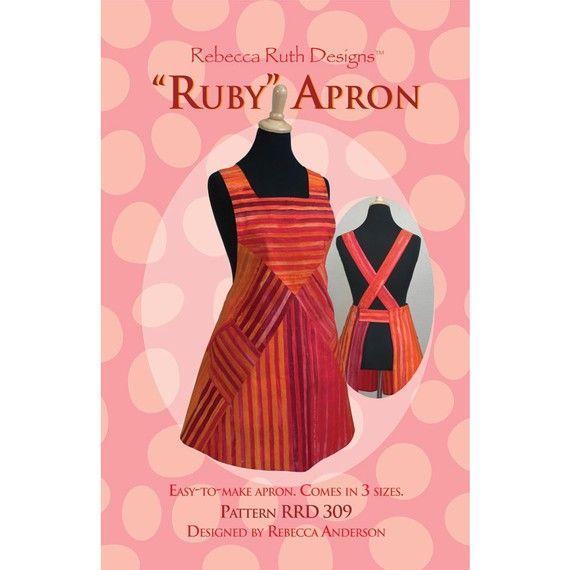Ruby retro apron pattern | DELANTALES RETRO /VINTAGE | Pinterest ...