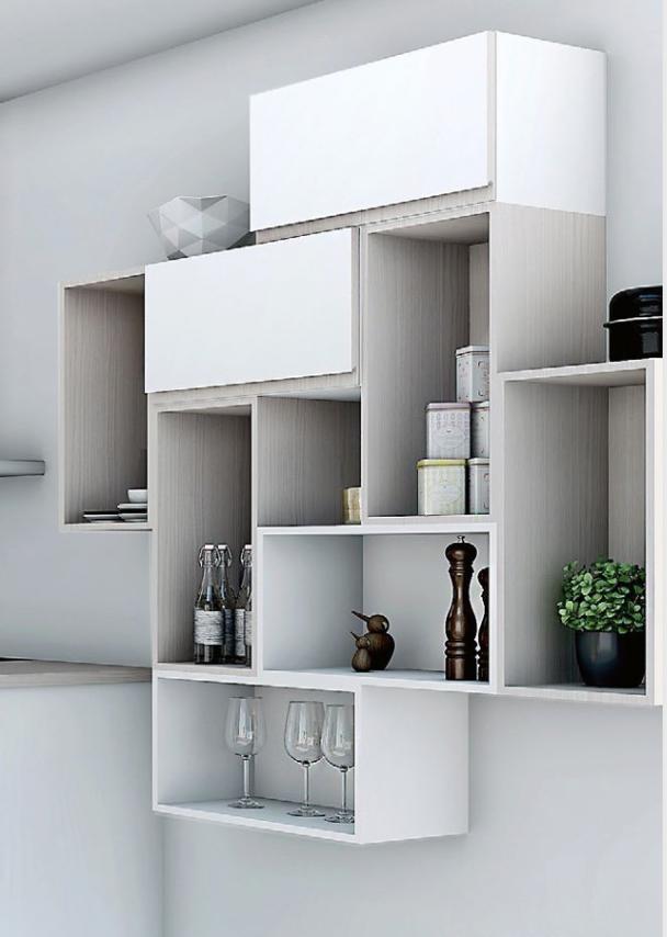 ikea eket ikea hack spare room office home office display shelves