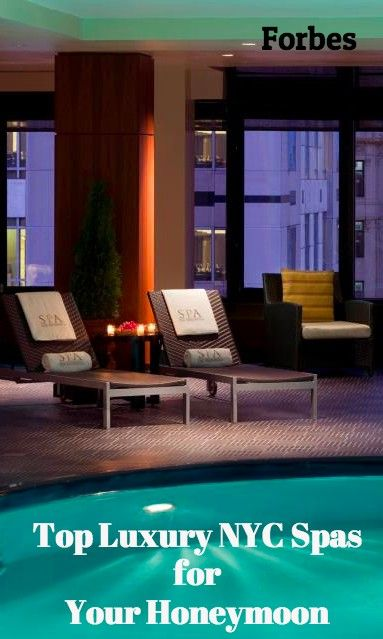 5 New York City Spa Escapes For Fall