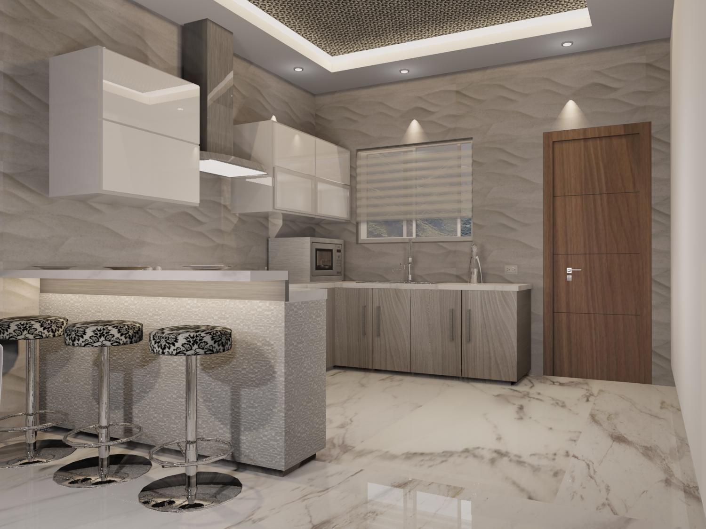 Cocina de estilo contempor neo materiales utilizados - Materiales de cocinas ...