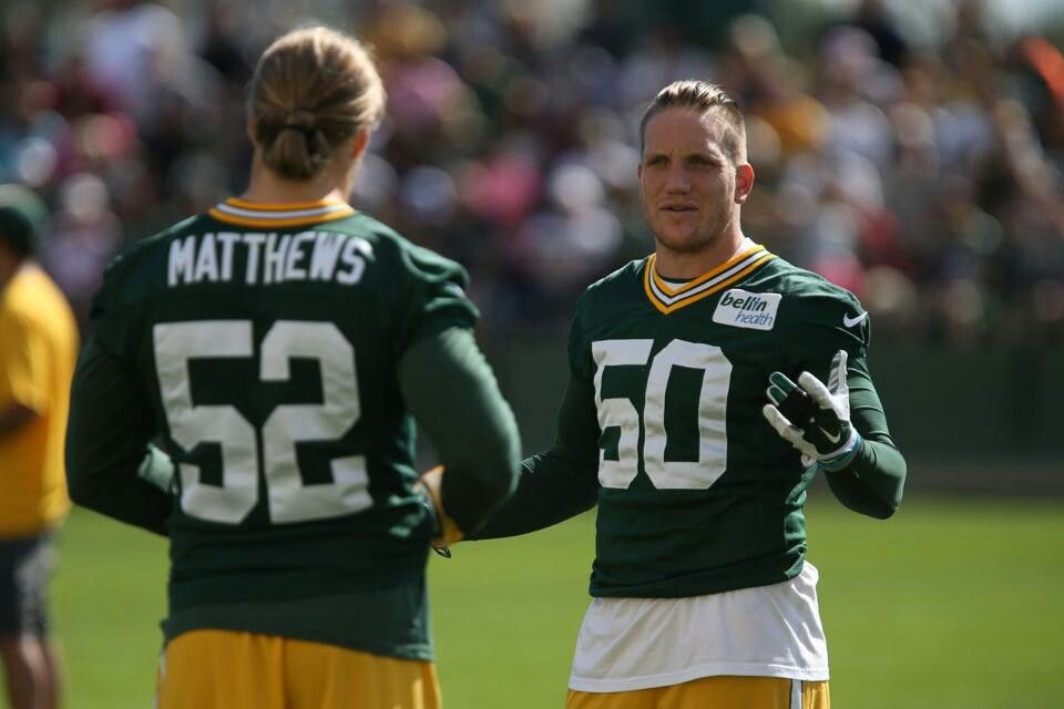 Clay Mathews And Aj Hawk Green Bay Packers Best Football Team My Boys