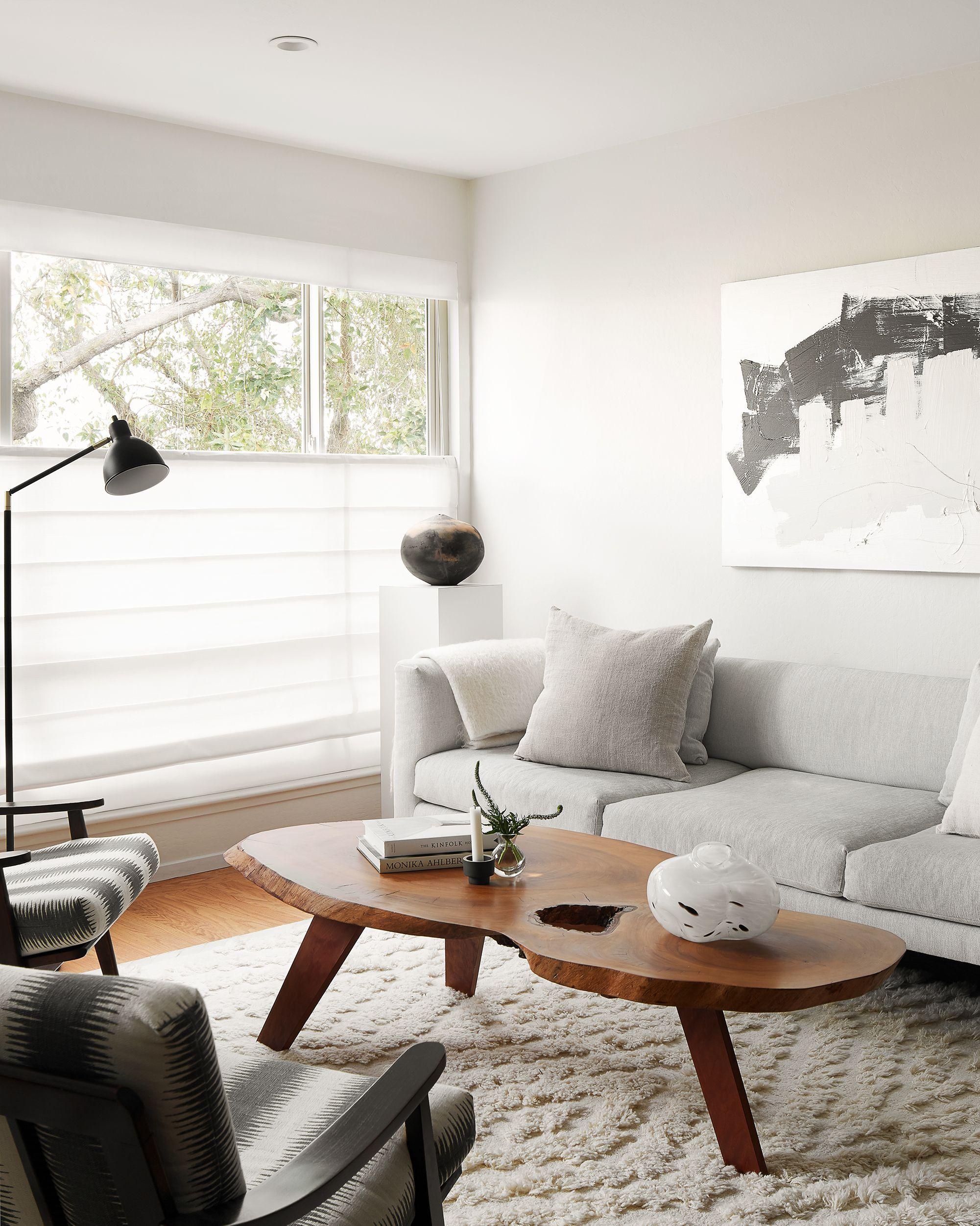 Interior By Lotta Coffey Design Midcentury Modern Home In San Francisco Custom Live Edge Coffee Table Live Edge Coffee Table Home Decor Home [ 2501 x 2001 Pixel ]