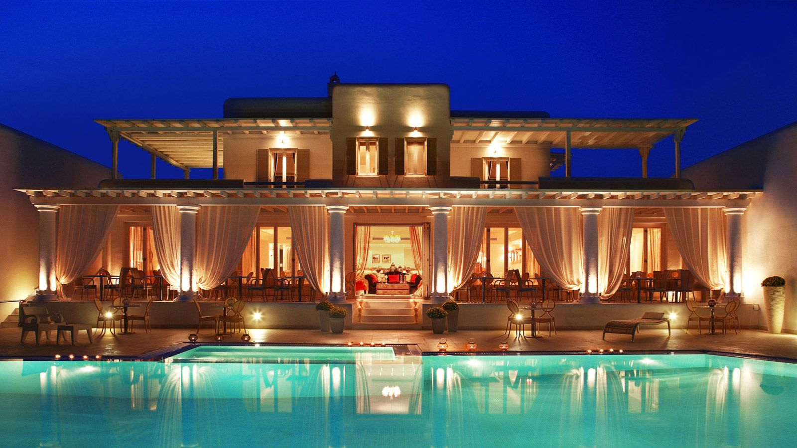 La Residence Mykonos Luxury 5 Star Hotel Suites Boutique Holiday Resort For Vacation In